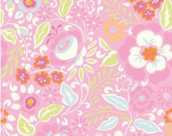 25105 - Dena Designs Taza Collection PWDF108 Lisa in pink - 1 yard