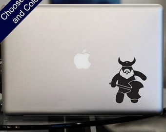 Cute Viking Decal -for Laptop, Car