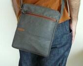 Men crossbody bag - gift for him - shoulder bag - canvas messenger bag