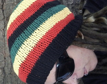Rasta dreadlock hat - FREE SHIPPING