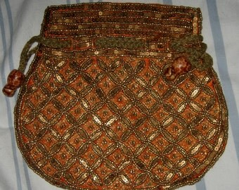 Gorgeous  sequences , beads evening purse  pouch