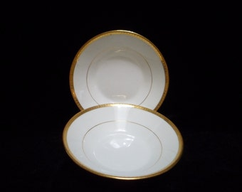 Art Deco Mintons China of England H1954 Two Small Bowls Shreve and Co. San Francisco