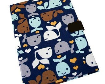 Microsoft Surface Samsung Galaxy Note Case iPad Air Mini Smiley Whales Kindle Fire HDX Paperwhite Kobo Nook Case Ipad Case