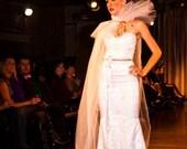 Regal Rowe, White Wedding Dress
