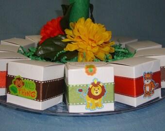 Jungle Safari Favor Boxes