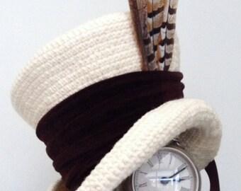 Victorian Steampunk mad hatter hat