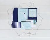 Charlotte - Destination Wedding Invitations - Set of 25
