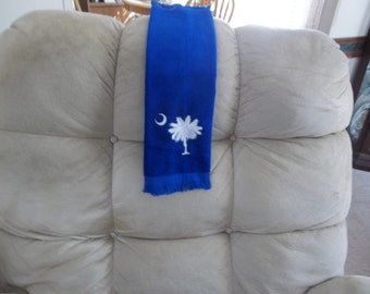 SC PALMETTO FINGERTIP towel