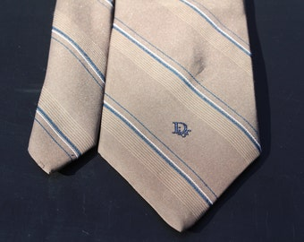 Christian Dior tie, FREE shipping, Designer tie, Dior, Vintage Tie, silk tie