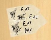 SALE- Alice in Wonderland Tags {INSTANT DOWNLOAD}