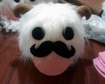 Moustache poro plushie - League of Legends plush
