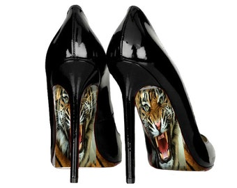 Fierce Sole Decals perfect for weddings, shoe decals, high heel stickers, wedding shoe decal, high heel shoe decorations