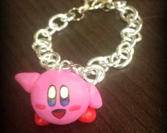 Kirby Charm Bracelet