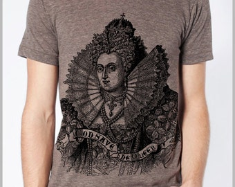 God Save the Queen American Apparel Men's T Shirt