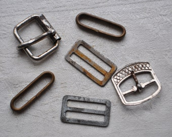 Vintage metal parts to use in your artwork.
