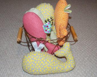Whale Softie.  Stuffed toy.
