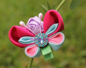Butterfly, Hair Clips, Hair Bows, Hair Accessories, Hair Pieces, Kanzashi, Rose, Baby Fashion, Bridal Accessories, Baby Toddler, Flower Girl