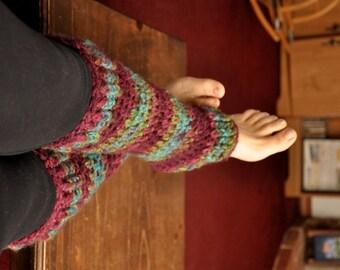 Leg Warmers, Super Soft Variegated