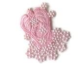 Snow Angel,  Angel Ornament, Machine Embroiderd Angel