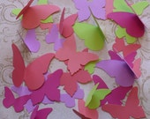 Stampin Up Butterfly Die Cut pieces Sherbet Colors Cardstock 4 Crafts Mobiles Photo Shoot Props Mural Wall Hanging