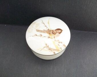 Vintage Delicate Petite Trinket Box