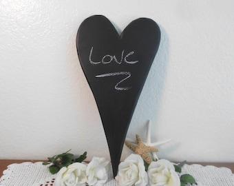 Large Heart Chalkboard Wedding Decoration Photo Prop Blackboard Whimsical Kitchen Bedroom Home Decor Black Board Gift For Her Him Chalk