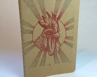 CHICKEN HEAD Notebook Moleskine Cahier