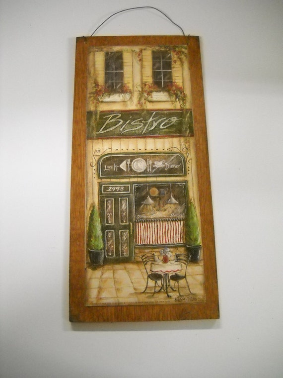 Https Etsy Com Listing 79230220 Bistro Coffee Cafe Sign Kitchen Decor