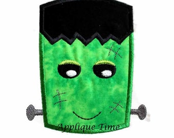 Instant Download Frankenstein Embroidery Applique Design 4x4, 5x7 and 6x10