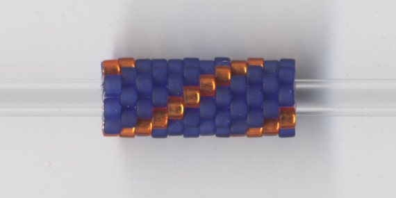Woven Glass Bead Tube ... ... ... ... 6mm/o-2mm/i ... ... ... ... ... 12x08 * 337