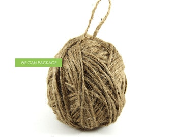 "1/16"" x 100 Yards Burlap Jute Bakers Twine Cord String for Craft Gift Weddings and Scrapebooking"