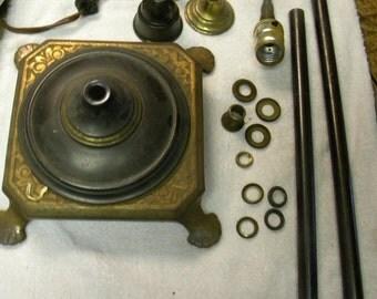 popular items for antique floor lamp on etsy. Black Bedroom Furniture Sets. Home Design Ideas