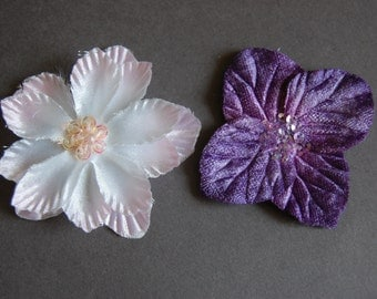 2pc Die Cut Flowers