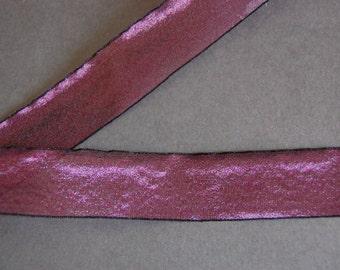 5yds - Grape Organza Ribbon