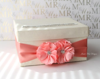Wedding Card box, Money Card Box, Wishing well - Custom Made