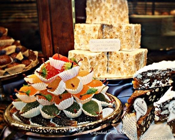 Items similar to italian food photography fine art for Italian decoration food