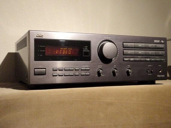 SALE Vintage JVC Japan Platinum Amplifier Rx-515V Digital