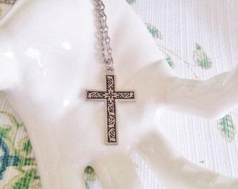 1960s Vined Cross,