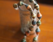 Lasting Promises Necklace - Paper Beads to Benefit Adoption