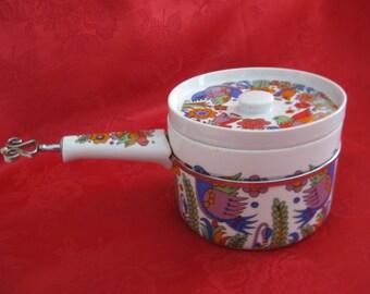 Vintage PSYCHEDELIC Royal Crown Saucepan