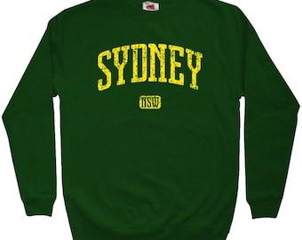 Sydney Australia Sweatshirt - Men S M L XL 2x 3x - Crewneck Sydney Shirt - 4 Colors