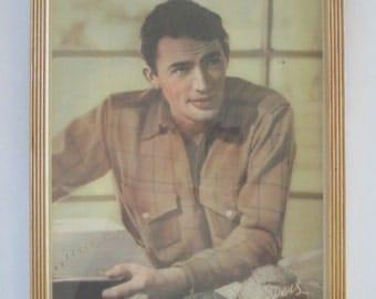 Autographed Gregory Peck Studio Portrait