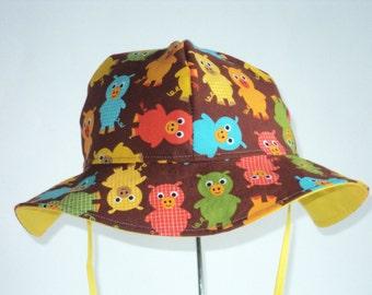 Baby Sun Hat - Baby Gift - Toddler Sun Hat - Baby Sunhat -Little Farmer Sun Hat - Summer Hat - Made To Order Size Newborn To 7 Years