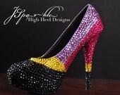 Valentine's Day Custom High Heel Pump Handmade 2014
