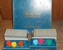 TRIVIAL PURSUIT Master Game Genus Edition - COMPLETE - 1981 -Vintage - Free Shipping