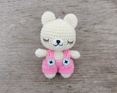 Cute Doll Knitted Key Chain Handmade Accessories Handbag Thailand (ACC4136KY-C8D38)