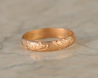 Stacking Ring - Gold Stack Ring - Stackable Ring