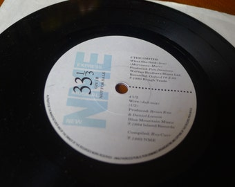The Smiths / U2 / Cocteau Twins NME Vinyl 45 Record
