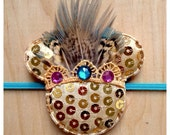 Minnie Mouse inspired Headband: Native Lace Crown