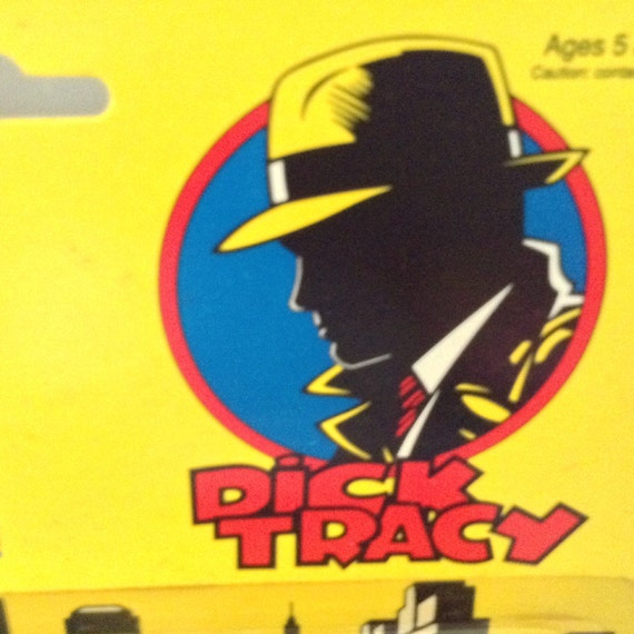 Dick Tracy Micro Set 4 Toy Cars Original Package New